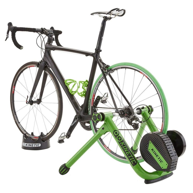Kinetic Road Machine Control Trainer with bike attached