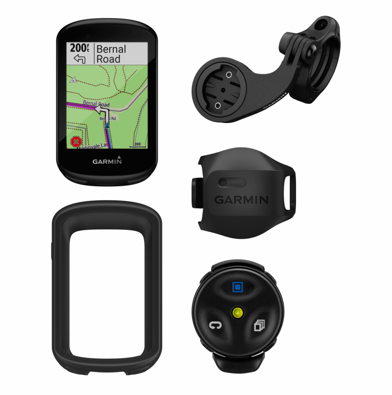 Garmin Edge 830 GPS Cycling Computer Mountain Bike Bundle