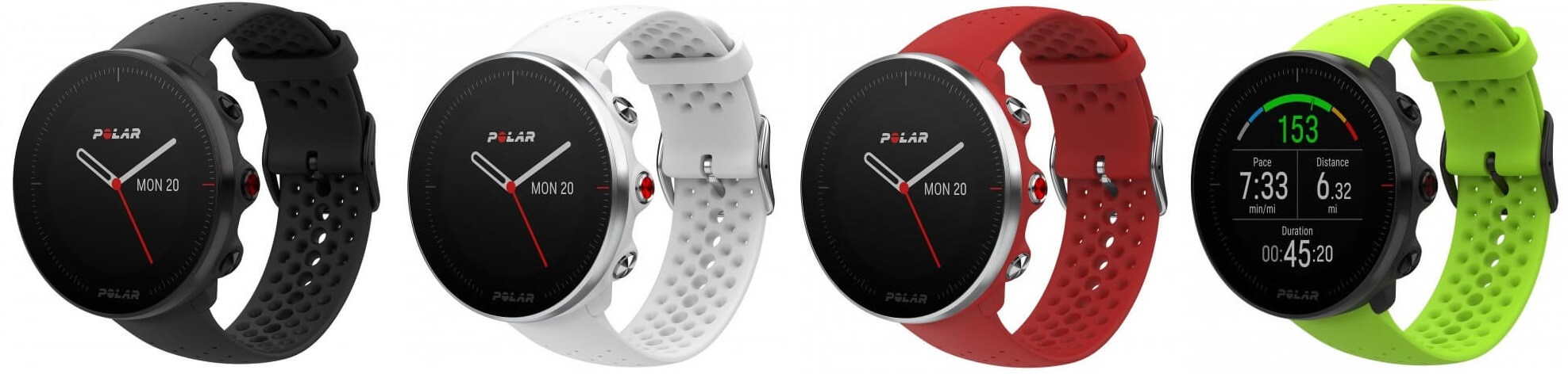 Polar Vantage M - All Colors