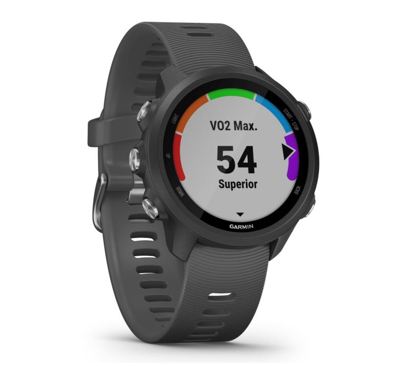 Garmin Forerunner 245 GPS Running Smartwatch - Slate Gray 3