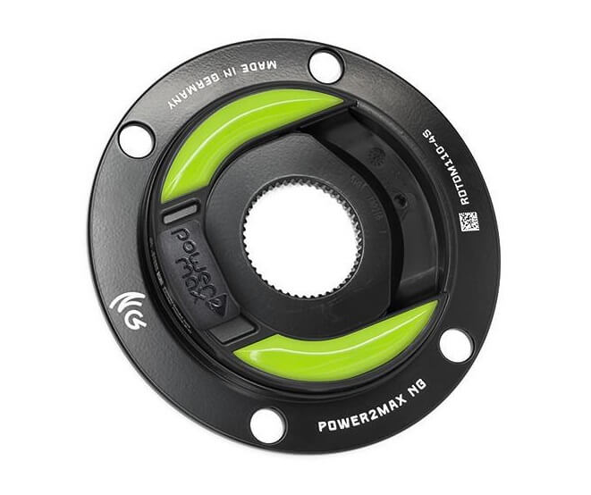 power2max NG ROTOR ALDHU 3D Road Power Meter - 110 BCD 4-Bolt Shimano