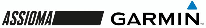 Image of Assioma and Garmin Logos