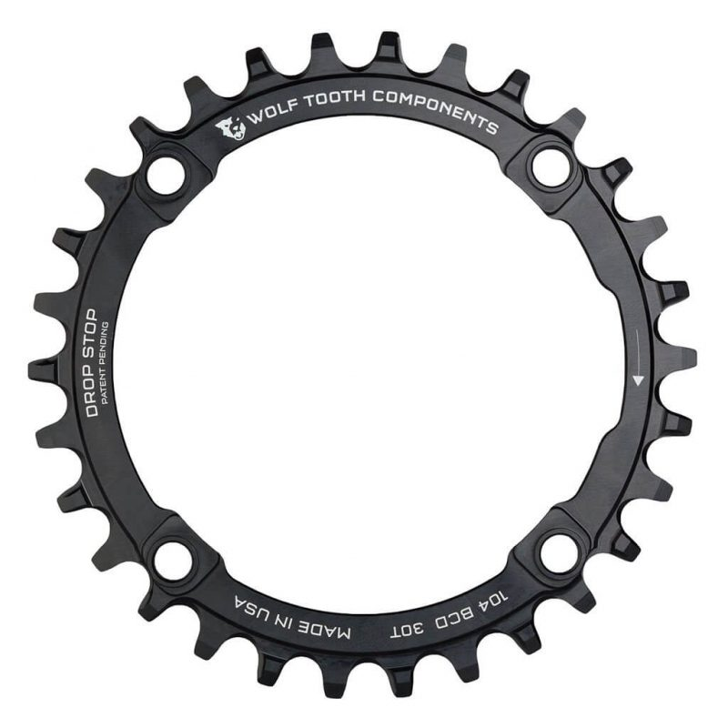 Wolf Tooth Components 1x 104 BCD MTB Chainring For Shimano 12-Spd.