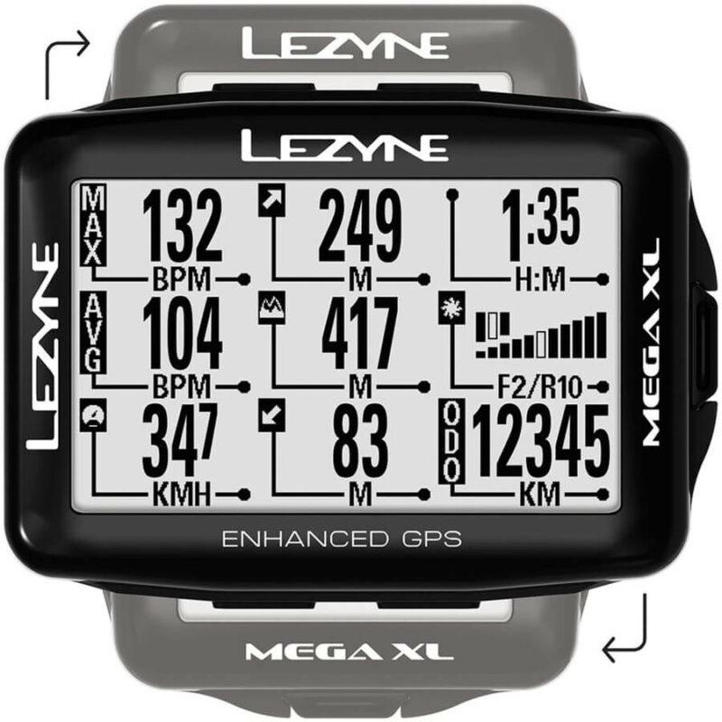 Lezyne Mega XL GPS Cycling Computer