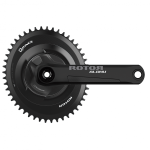 ROTOR INspider ALDHU Road Power Meter Crankset with oval crown