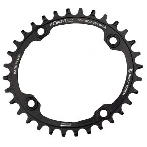 Wolf Tooth Components 1x 104 BCD Elliptical MTB Chainring for Shimano 12-Spd.