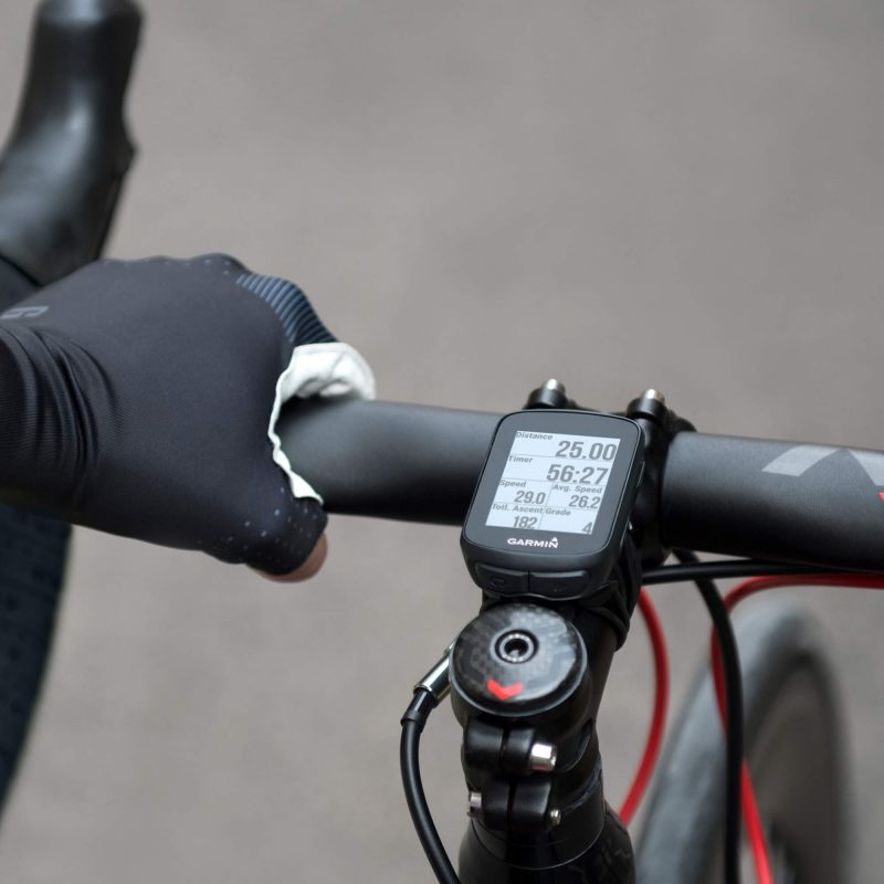 Garmin Edge 130 mounted on a bike
