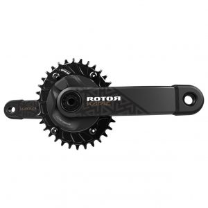 ROTOR INspider KAPIC MTB Power Meter Crankset with oval chainrings