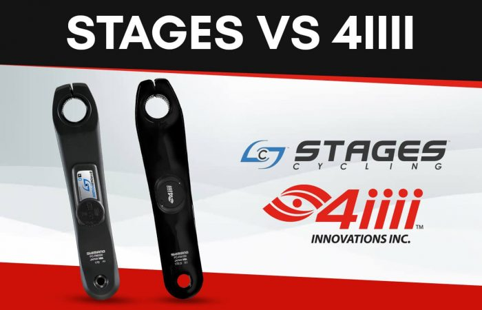 Banner image for our Stages vs 4iiii Crank Arm Power Meter article