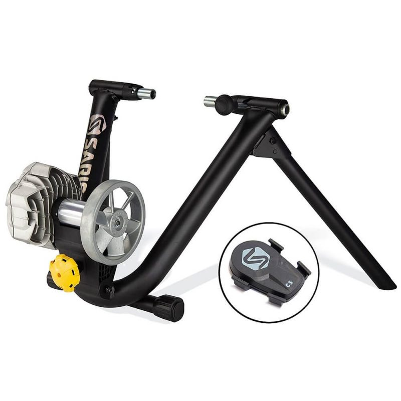 Saris Fluid 2 Smart Trainer from right side