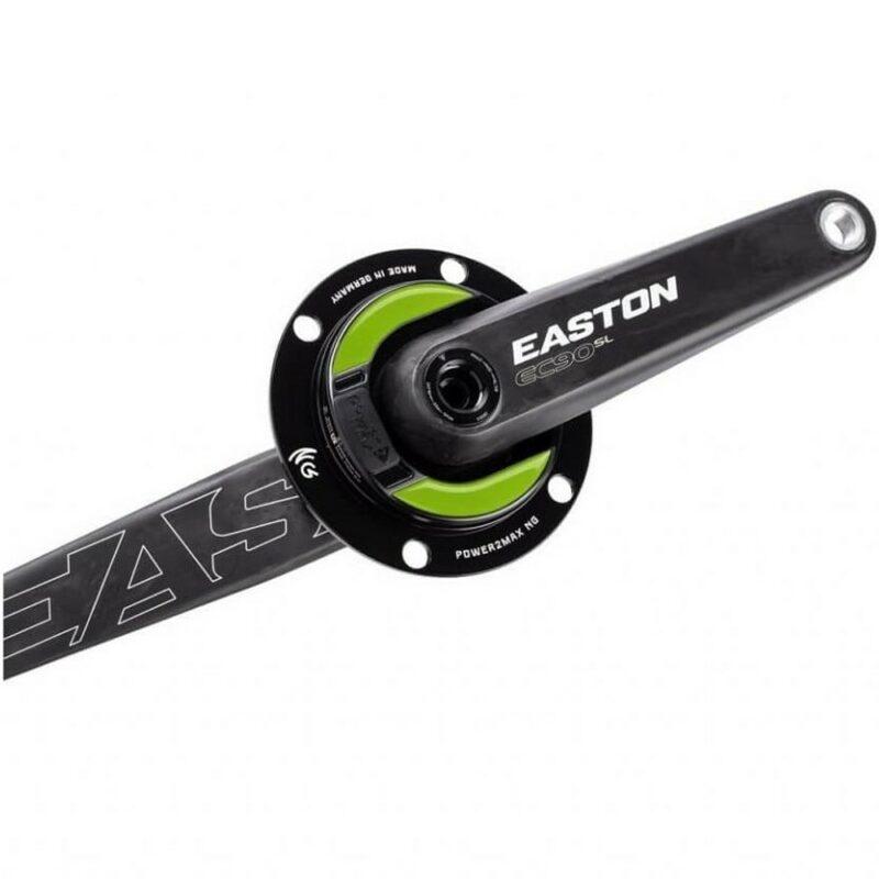 power2max NG Easton Road Power Meter Crankset. 4-Bolt Shimano