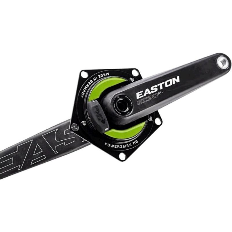 power2max NGeco Easton Road Power Meter Crankset. 130 BCD