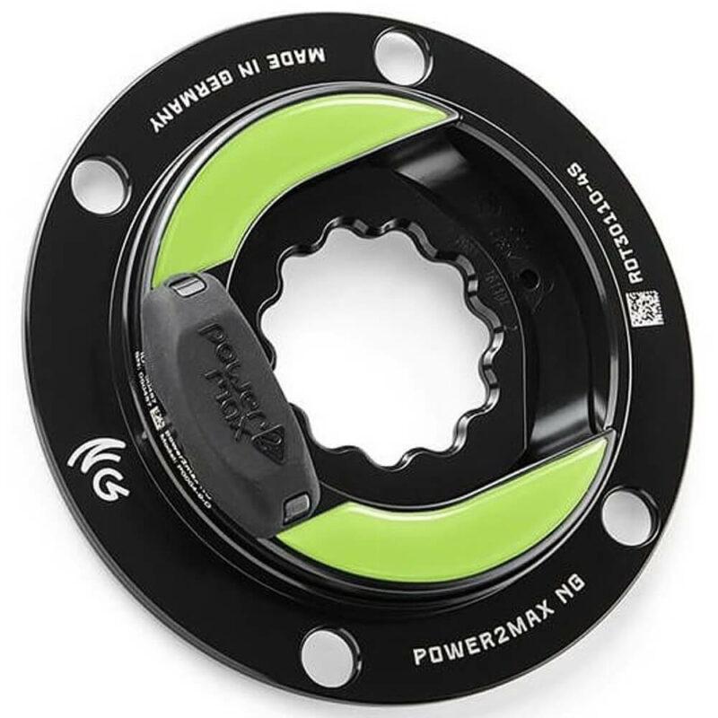 power2max NGeco ROTOR 3D+ Road Power Meter. 110 4-Bolt Shimano
