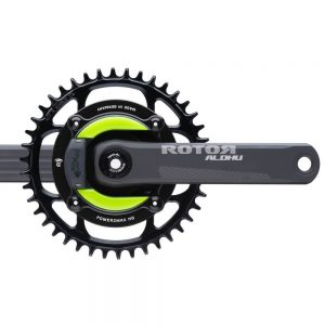 power2max NGeco ROTOR ALDHU 24MM Gravel Power Meter Crankset 1x