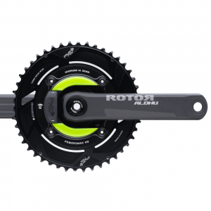 power2max NGeco ROTOR ALDHU 24MM Gravel Power Meter Crankset 2x