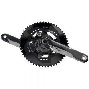 Quarq DZero DUB Power Meter Crankset with crank arms and chainrings