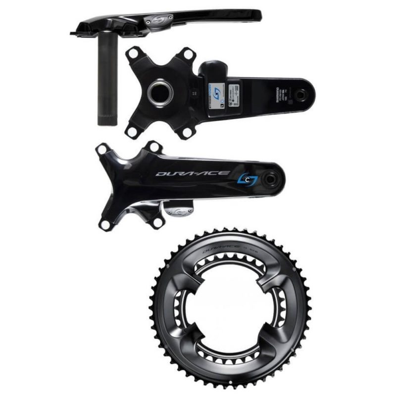 Stages Shimano DURA-ACE 9100 Right Side Power Meter with Chainrings
