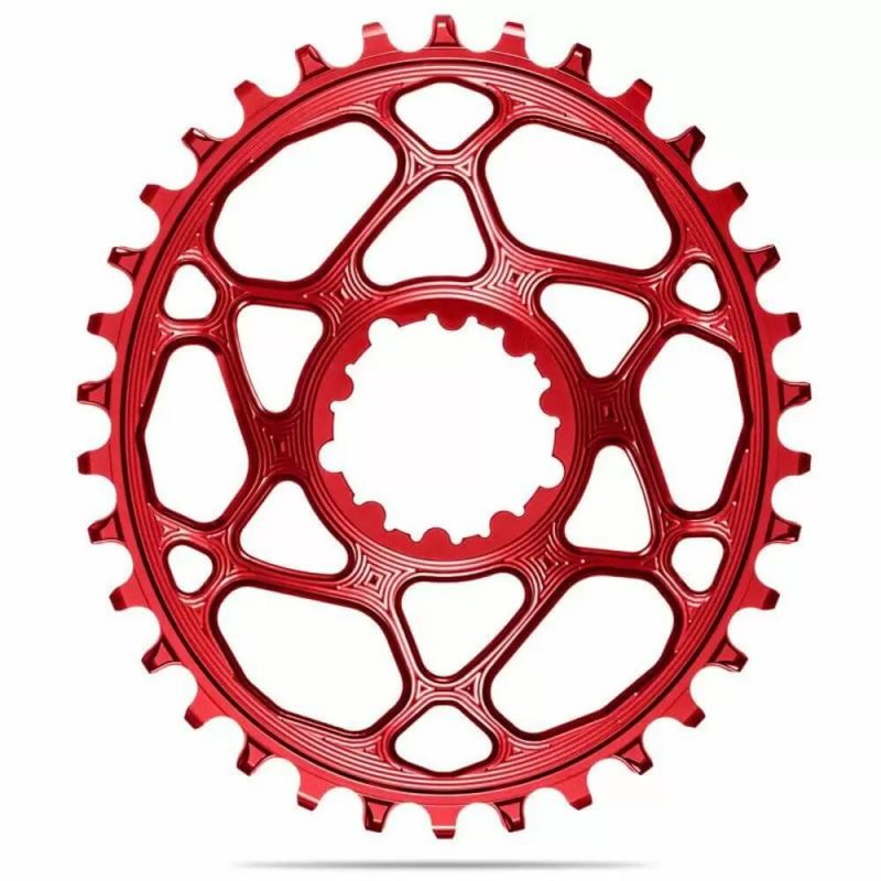 absoluteBLACK Oval Boost Chainring for SRAM - Red