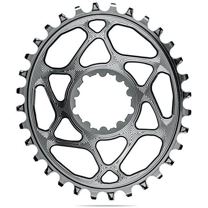 absoluteBLACK Oval Boost Chainring for SRAM - Titanium