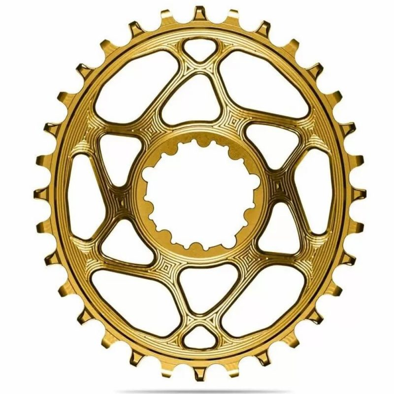 absoluteBLACK Oval Boost Chainring for SRAM - Gold