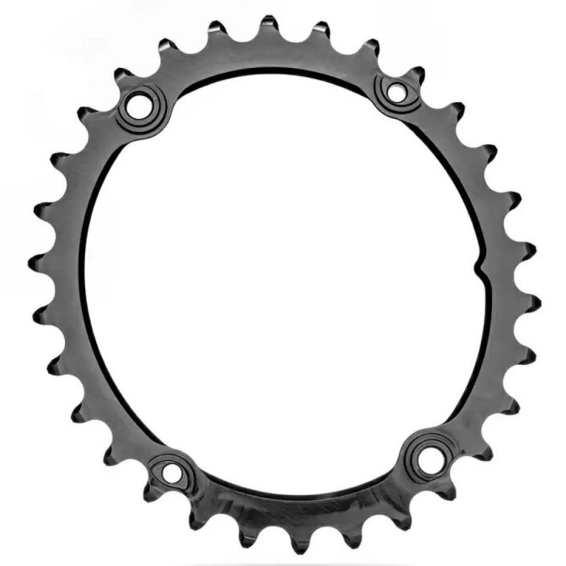 absoluteBLACK Premium Oval Sub-Compact Chainrings for Shimano