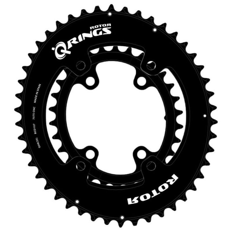 ROTOR Oval Chainrings for Shimano GRX
