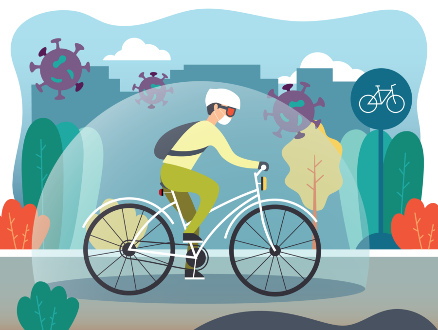 How to Be Safe from COVID While You're Cycling
