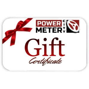 Power Meter City Gift Certificate